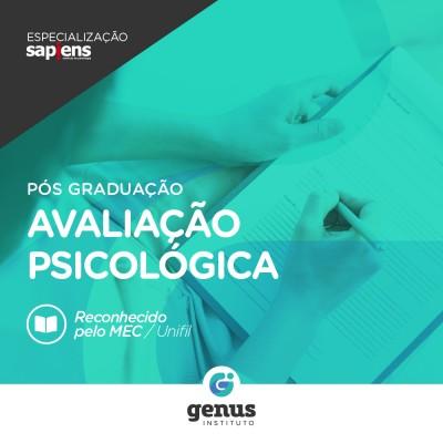 Especialização em Avaliação Psicológica - Curitiba