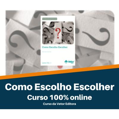CURSO EAD - COMO ESCOLHO ESCOLHER