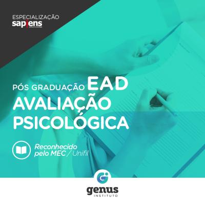 Especialização em Avaliação Psicológica EAD