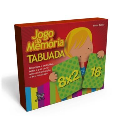 Jogo da memoria tabuada