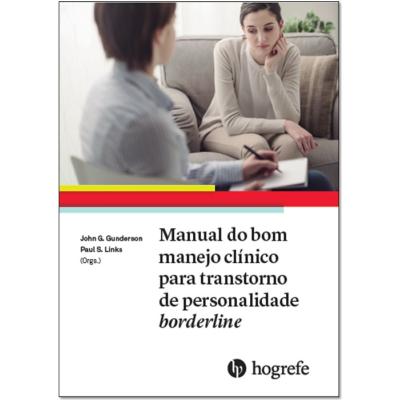 Manual do bom manejo clínico para transtorno de personalidade borderline