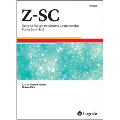 Z-SC – Teste de Zulliger no Sistema Compreensivo – Forma Individual   -  Coleção Premium