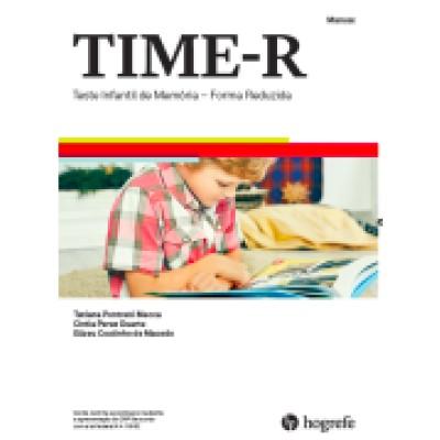 TIME – R – Teste Infantil de Memória – Forma reduzida