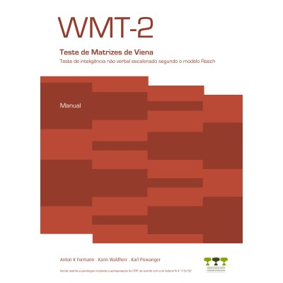 WMT-2 - Teste de Matrizes de Viena - Kit