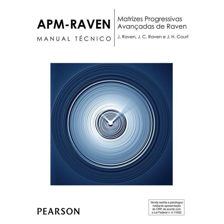 APM Raven - Matrizes Progressivas Avançadas de Raven - Kit