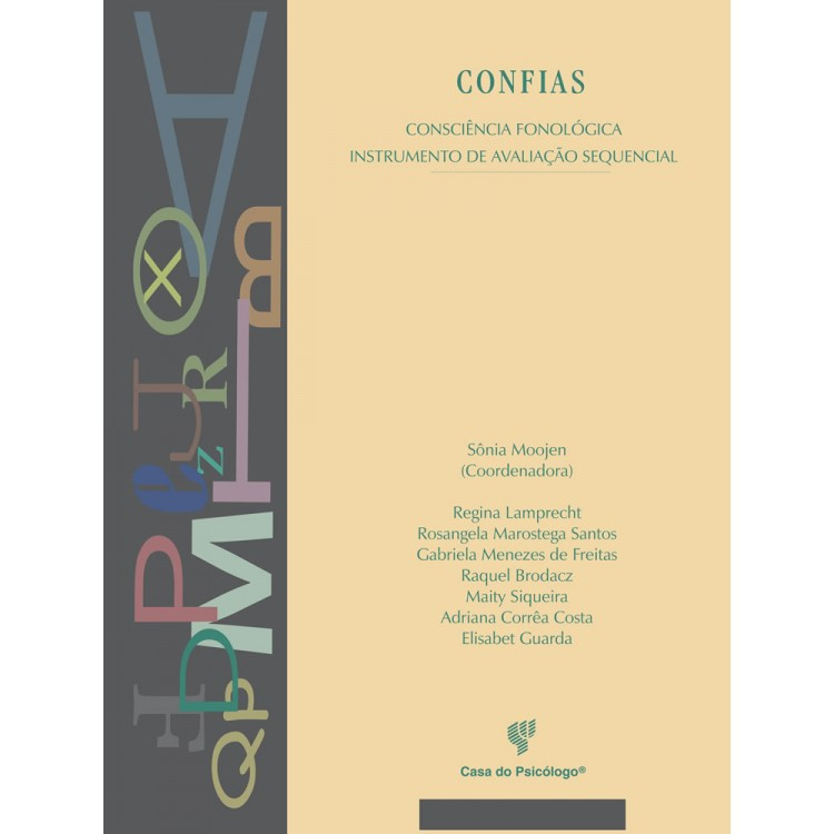 CONFIAS - Consciencia Fonológica Instrumento de Avaliação Sequencial - Kit