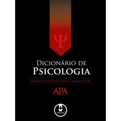Dicionario de psicologia APA