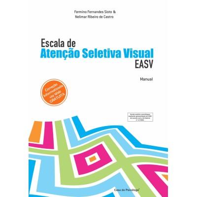 EASV - Escala de Atenção Seletiva Visual - Kit
