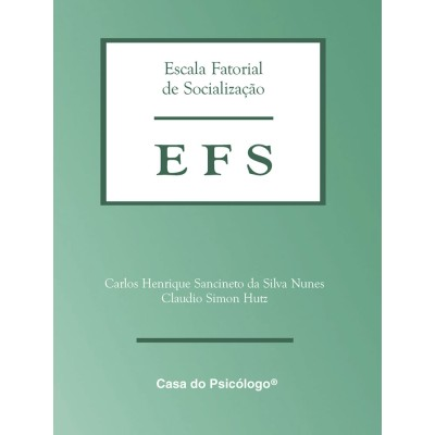 EFS - Escala Fatorial de Socializacao - Kit