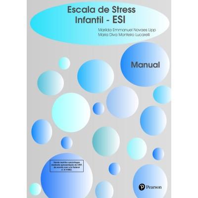 ESI - Escala de Stress Infantil - Kit