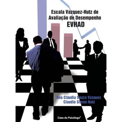 EVHAD -Escala Vazquez-Hutz de Avaliação de Desempenho - Kit