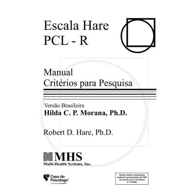 Escala Hare PCL-R - Kit