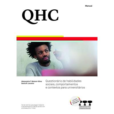 QHC - Questionário de Habilidades Sociais, Comportamentos e Contextos para Universitários - Kit