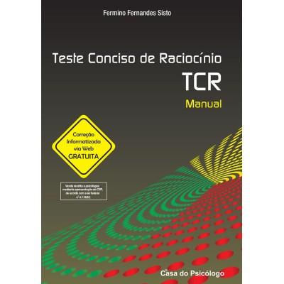 TCR - Teste Conciso de Raciocínio - Kit