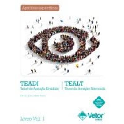 TEADI-TEALT V - Teste de Atençao Dividida / Alternada - Kit