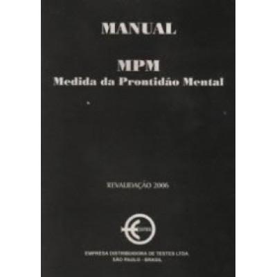 MPM - Medida da Prontidão Mental - Kit