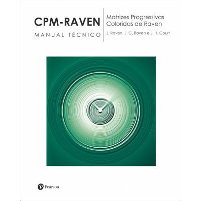 CPM RAVEN - RAVEN INFANTIL - Matrizes Progressivas Coloridas de Raven